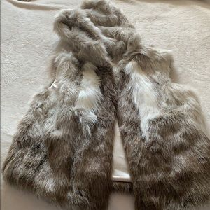 Fur vest - NEW WITH TAGS!